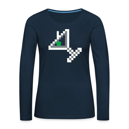item martini - Women's Premium Slim Fit Long Sleeve T-Shirt