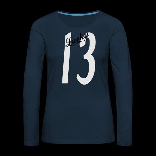 Lucky Thirteen - Women's Premium Slim Fit Long Sleeve T-Shirt