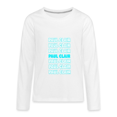 Paul Clair Stand Out Youth & Babies - Kids' Premium Long Sleeve T-Shirt