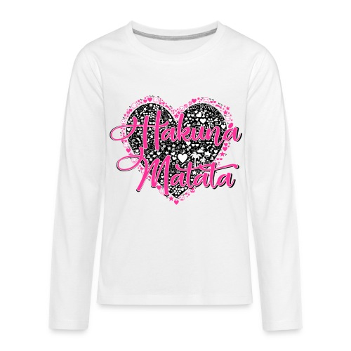 Hakuna Matata - Kids' Premium Long Sleeve T-Shirt
