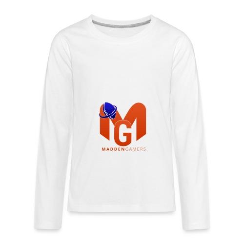MaddenGamers MG Logo - Kids' Premium Long Sleeve T-Shirt