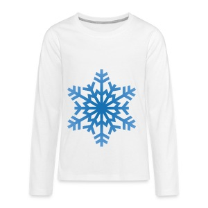 http-images-clipartpanda-com-snowflake-clipart-tra - Kids' Premium Long Sleeve T-Shirt