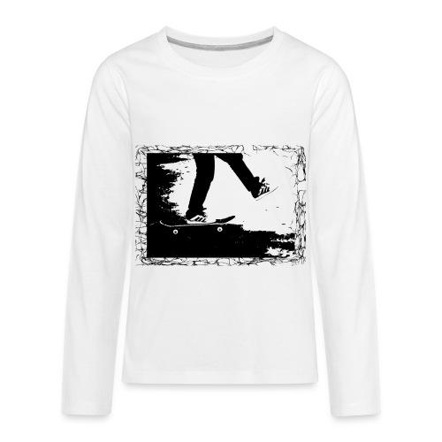 Skateboard - Kids' Premium Long Sleeve T-Shirt