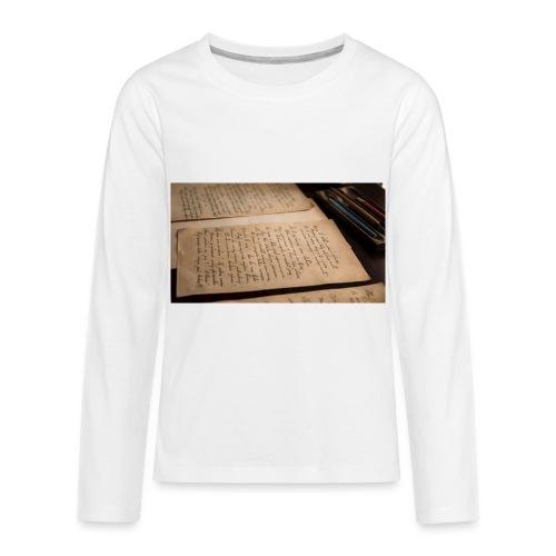 Back to school merch - Kids' Premium Long Sleeve T-Shirt