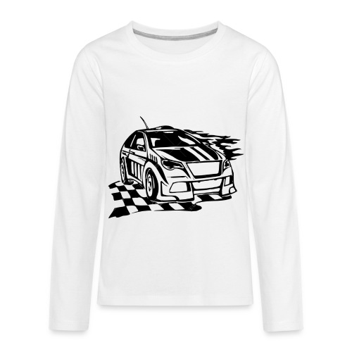 GO GRACE GO!!! - Kids' Premium Long Sleeve T-Shirt