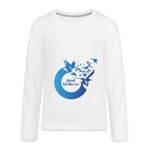 Just Believe - Kids' Premium Long Sleeve T-Shirt