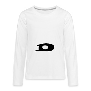 ORIGINAL BLACK DETONATOR LOGO - Kids' Premium Long Sleeve T-Shirt