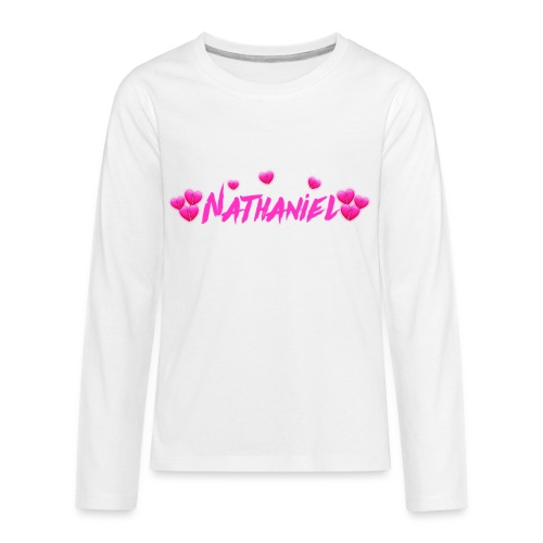 Nathaniel White Out Set - Kids' Premium Long Sleeve T-Shirt