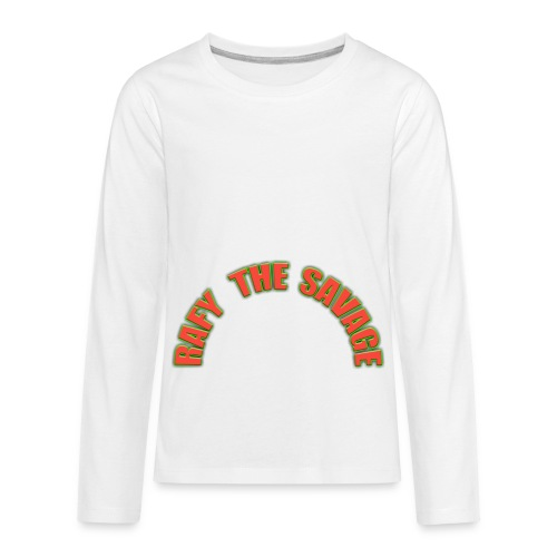 Rafy the savage - Kids' Premium Long Sleeve T-Shirt