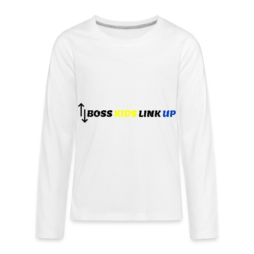 Boss Kids Link 2 - Kids' Premium Long Sleeve T-Shirt