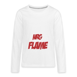 Flame For KIds - Kids' Premium Long Sleeve T-Shirt