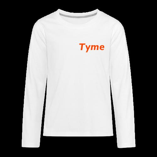 new Tyme Merch - Kids' Premium Long Sleeve T-Shirt