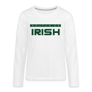Southside Irish green - One Bar - Kids' Premium Long Sleeve T-Shirt