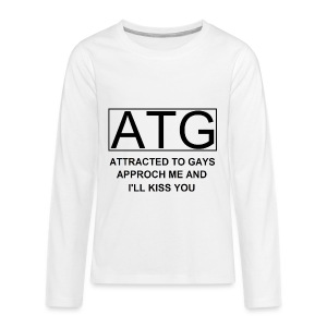ATG Attracted to gays - Kids' Premium Long Sleeve T-Shirt