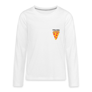 pizza for iKMCCN - Kids' Premium Long Sleeve T-Shirt