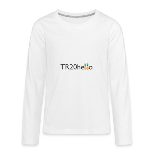 TR20hello - Kids' Premium Long Sleeve T-Shirt