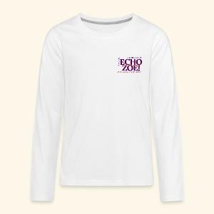 Echo Zoe - Kids' Premium Long Sleeve T-Shirt