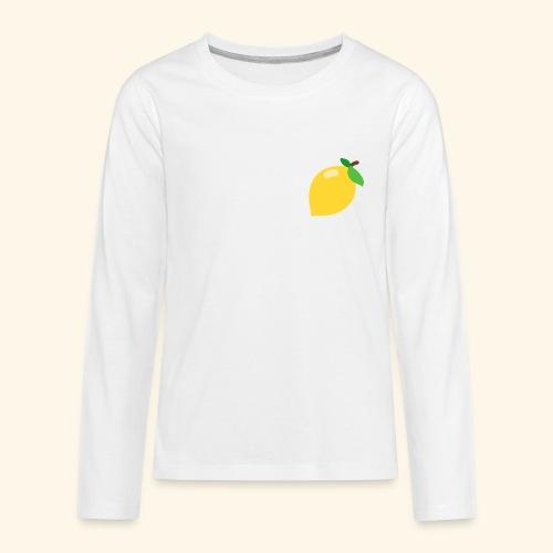 lemon - Kids' Premium Long Sleeve T-Shirt