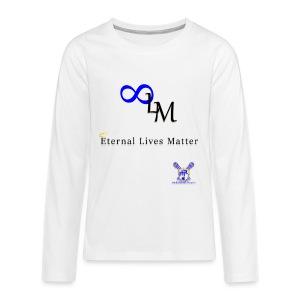 Eternal Lives Matter - Kids' Premium Long Sleeve T-Shirt