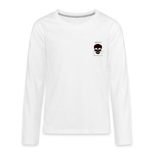 THE SKULL LOVE - Kids' Premium Long Sleeve T-Shirt