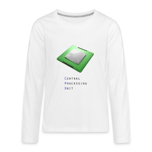 CPU - Central Processing Unit - Kids' Premium Long Sleeve T-Shirt