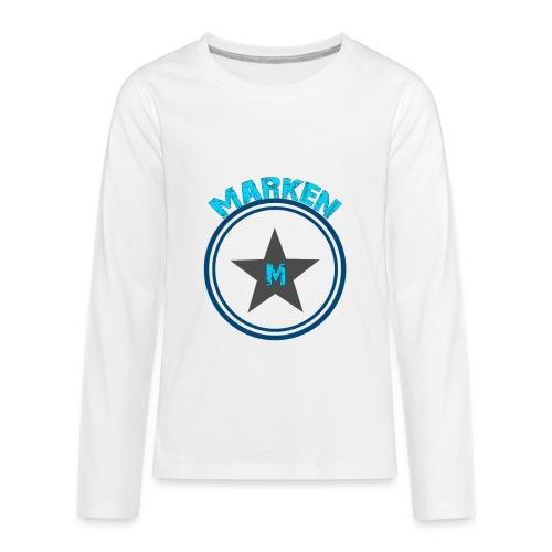 Marken Logo - Kids' Premium Long Sleeve T-Shirt