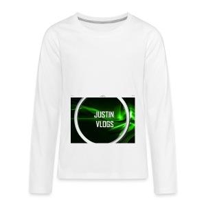 Wave green merchandise - Kids' Premium Long Sleeve T-Shirt