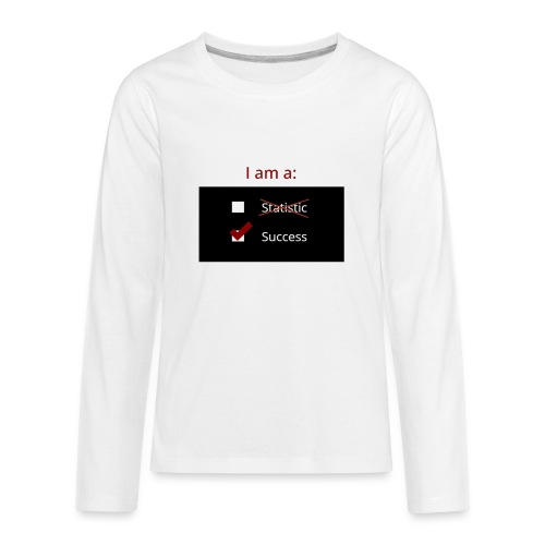 I Am A Success - Kids' Premium Long Sleeve T-Shirt
