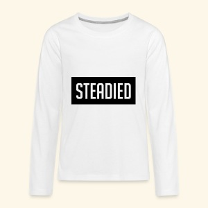 The Steadied Car Official Spread Design - Kids' Premium Long Sleeve T-Shirt