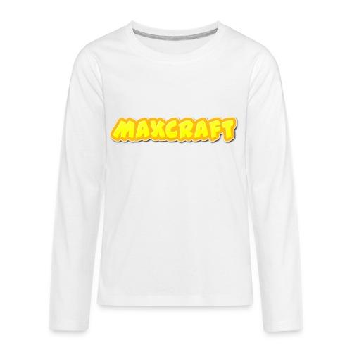 MaxCraft Long Sleeve t-shirt - Kids' Premium Long Sleeve T-Shirt