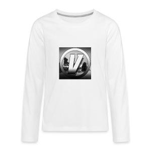 Vezx Vlogs Logo - Kids' Premium Long Sleeve T-Shirt