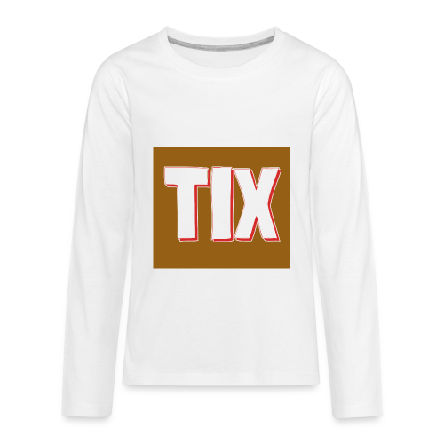 TIX Kid's T Shirt - Kids' Premium Long Sleeve T-Shirt