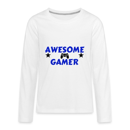 pro gamer - Kids' Premium Long Sleeve T-Shirt