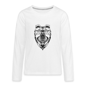 Bear Graphic Valar - Kids' Premium Long Sleeve T-Shirt