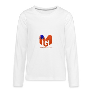 MaddenGamers MG Logo - Kids' Premium Long Sleeve T-Shirt