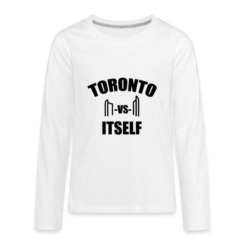 6 Versus 6 - Kids' Premium Long Sleeve T-Shirt