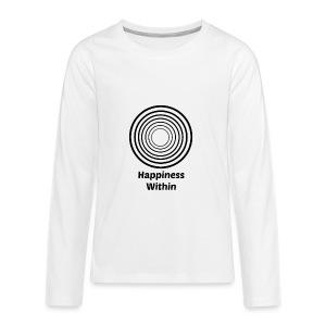 Happiness Within - Kids' Premium Long Sleeve T-Shirt
