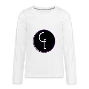 CE Logo - Kids' Premium Long Sleeve T-Shirt