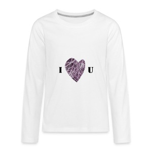 FlowHeart wikiMINI 4 - Kids' Premium Long Sleeve T-Shirt