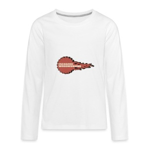 Fireball Saw Logo - Kids' Premium Long Sleeve T-Shirt