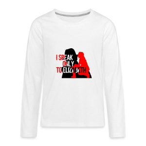 I speak only to Elizabeth : the blacklist tees - Kids' Premium Long Sleeve T-Shirt