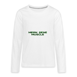 Mean Gene - Kids' Premium Long Sleeve T-Shirt