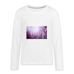 Life's field of flowers - Kids' Premium Long Sleeve T-Shirt