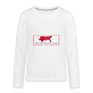 Make the South Great Again! - Kids' Premium Long Sleeve T-Shirt