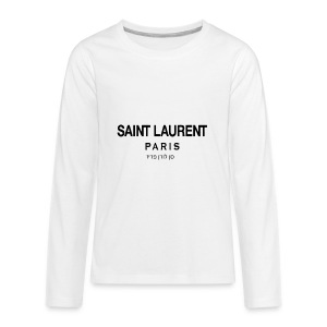 saint laurent - Kids' Premium Long Sleeve T-Shirt