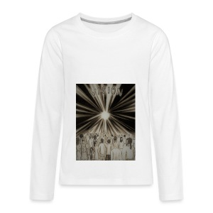 Black_and_White_Vision2 - Kids' Premium Long Sleeve T-Shirt