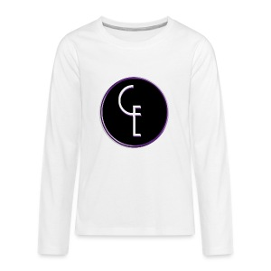 CE Logo - Kids' Premium Long Sleeve T-Shirt