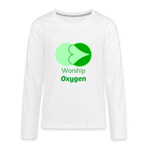Worship Oxygen - Kids' Premium Long Sleeve T-Shirt