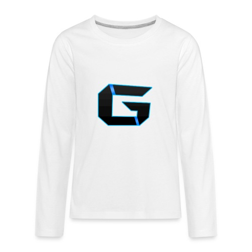 Gemicloud Logo - Kids' Premium Long Sleeve T-Shirt