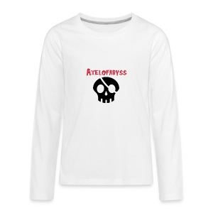 skull pirate 2 - Kids' Premium Long Sleeve T-Shirt